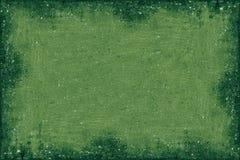 Cadre vert Photo libre de droits
