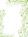 Cadre vert Image libre de droits
