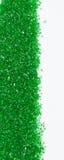 Cadre vert de sucre Photos libres de droits