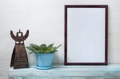 Cadre vide pour une inscription Photo stock