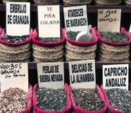 Cadres avec des feuilles de thé Photo stock