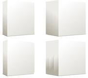 Cadres blanc Photographie stock
