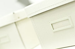 Cadres blancs de bureau Image libre de droits