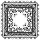 Cadres carrés Images stock