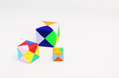 Cadres colorés Images libres de droits