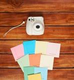 Cadres colorés d'appareil-photo instantané Images libres de droits