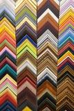 Cadres colorés moulant des échantillons de photo Texture de fond image stock