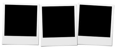 Cadres d'appareil-photo instantané Image libre de droits