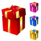 Cadres de cadeau Photographie stock