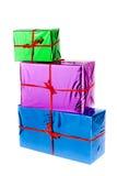 Cadres de cadeau Image libre de droits