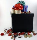 Cadres de cadeau Photographie stock libre de droits