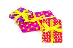 Cadres de cadeau photo libre de droits