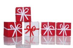 Cadres de cadeau Photos libres de droits