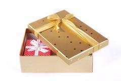 Cadres de cadeau Images stock