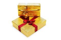 Cadres de cadeau d'isolement image stock