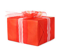 Cadres de cadeau de vacances décorés des proues et des bandes Image stock