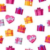 Cadres de cadeau sans joint de configuration Photo libre de droits