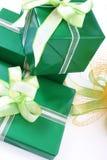 Cadres de cadeaux photos stock