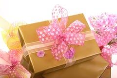 Cadres de cadeaux photographie stock
