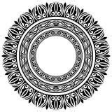 Cadres de cercle Photo libre de droits