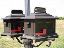Cadres de courrier Images libres de droits