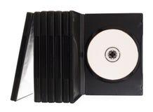Cadres de DVD Photographie stock