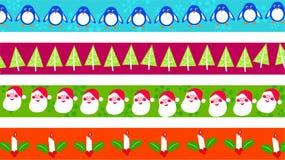 Cadres de Noël illustration de vecteur