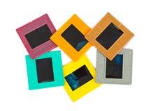 Cadres de photo pour la glissière Photos libres de droits