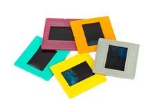Cadres de photo pour la glissière Photographie stock