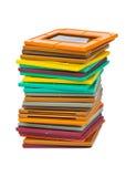 Cadres de photo pour la glissière Photographie stock libre de droits