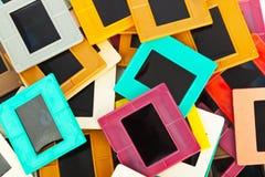 Cadres de photo pour le fond de glissière Photos libres de droits