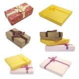 Cadres de ramassage pour des cadeaux Photos stock