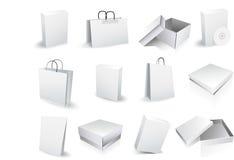 cadres de sacs Photos stock