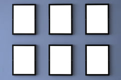 Cadres de tableau blanc Photos stock