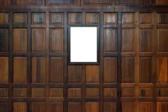 Cadres de tableau en bois Photos libres de droits