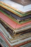 Cadres de tableau en bois colorés Images libres de droits