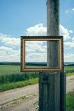 Cadres de tableau en nature Image libre de droits