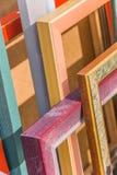 Cadres de tableau vides Photo stock