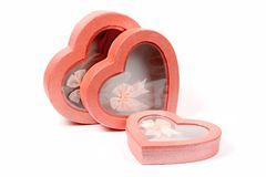 Cadres de Valentine Images libres de droits