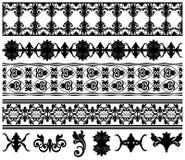 Cadres de vecteur et éléments de conception Images stock