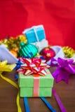 Cadres et bandes de cadeau Photo libre de droits