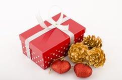 Cadres et bandes de cadeau Photos stock