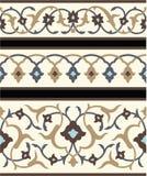Cadres floraux d'Agra illustration stock