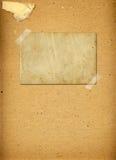 Cadres grunges sur le fond de papier antique illustration stock