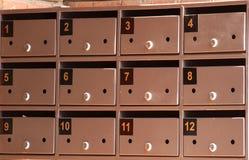 Cadres postaux Photo libre de droits