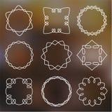 Cadres simples d'ensemble Image stock