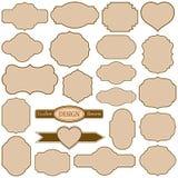 Cadres simples réglés Image libre de droits