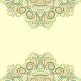Cadres verts abstraits Photos libres de droits
