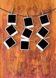 Cadres vides de pcture Photographie stock