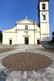 cadrezzate在老教会封锁了砖塔边路它 库存照片